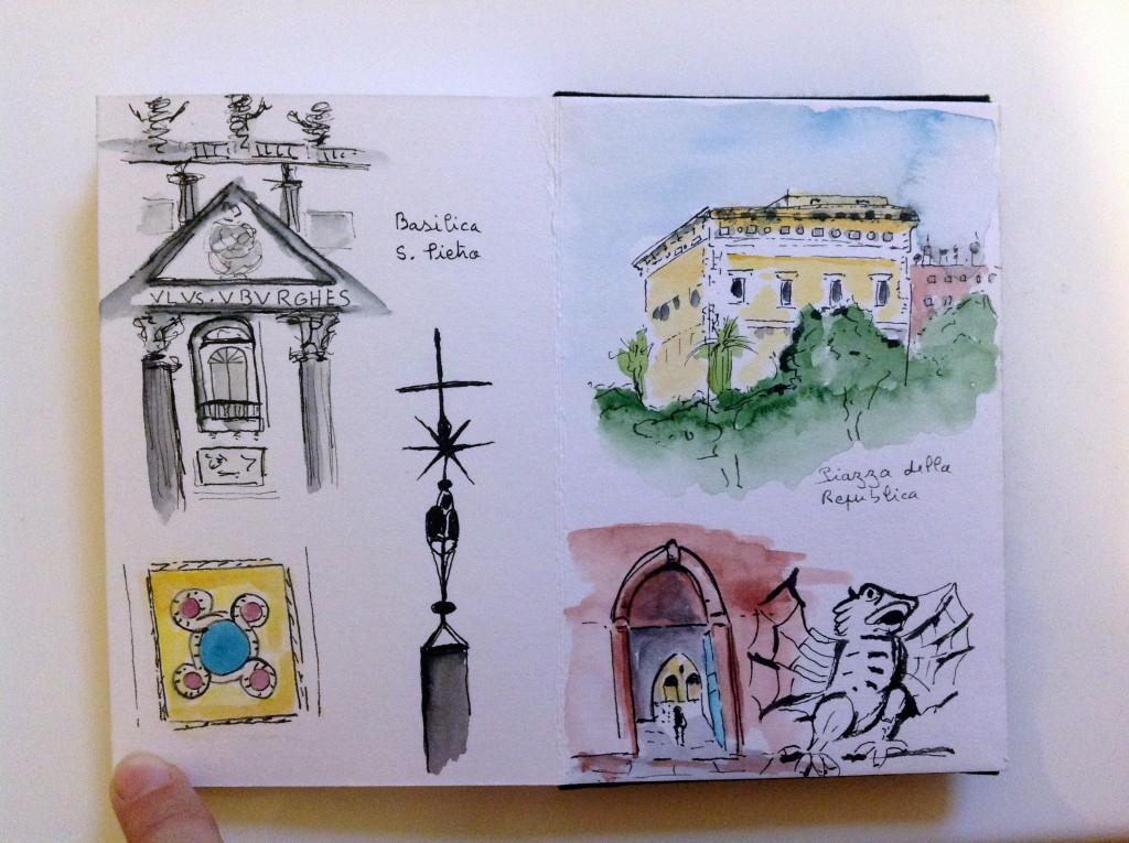 Carnet de voyage à Rome