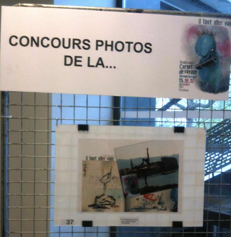 1er prix d'un concours de photo