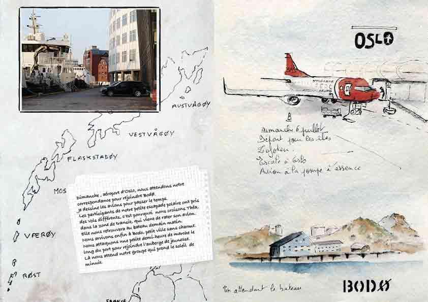 Carnet de voyage aux iles Lofoten