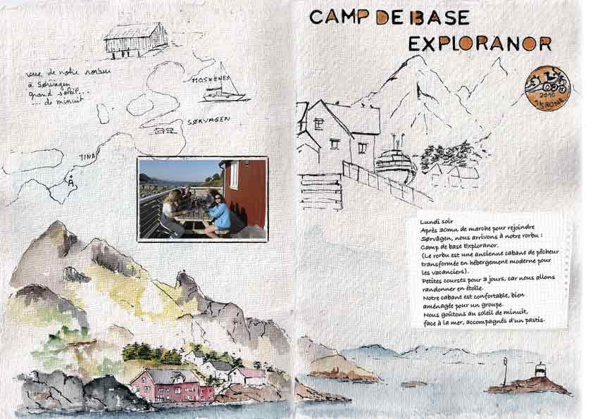 Carnet de Voyage aux les Lofoten